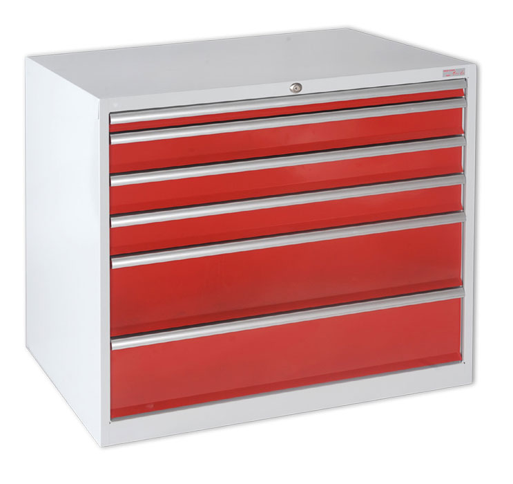Meubles tiroirs et servantes d 39 atelier anjou t lerie fabriquant de m - Meuble metallique rouge ...